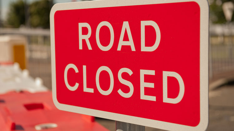 Facility and Road Closures ISO the All American Marathon