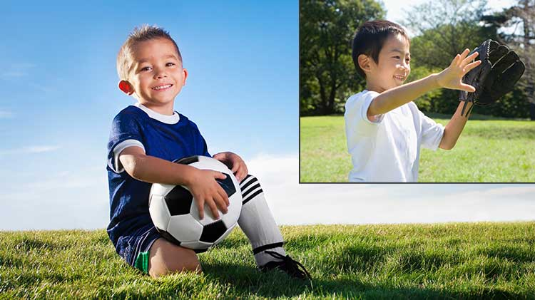 Learn to Play Soccer & Learn to Play Baseball Registration