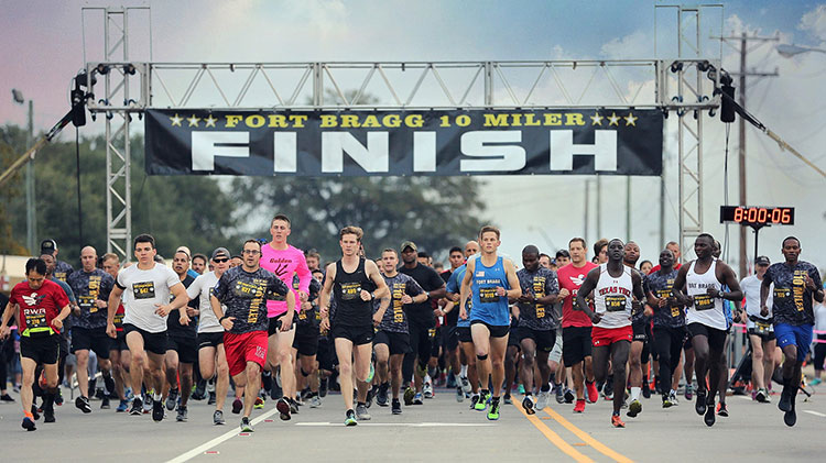US Army MWR :: Fort Bragg 10 Miler
