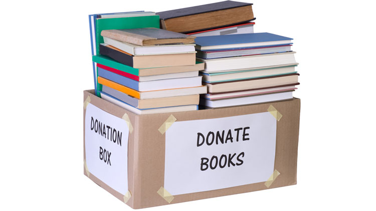 Donate Your Used Books