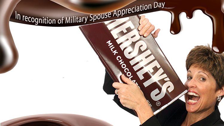 Motivation by Chocolate - Celebrating Military Spouses