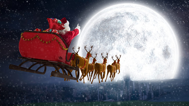 Santa Clause is comin' to...the Library!