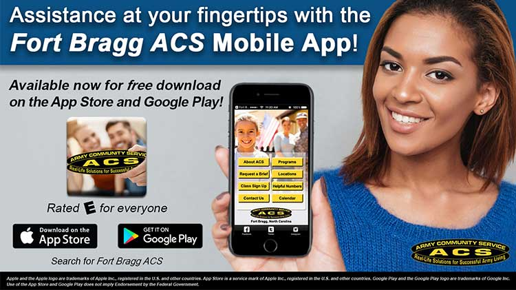 Fort Bragg ACS App