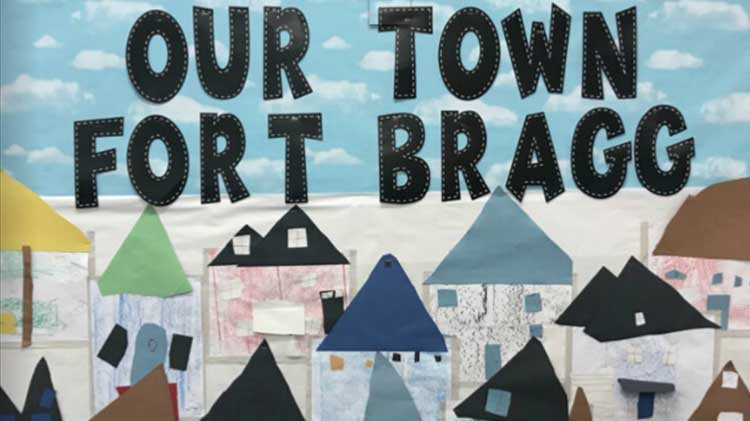 Our Town, Fort Bragg Exhibit
