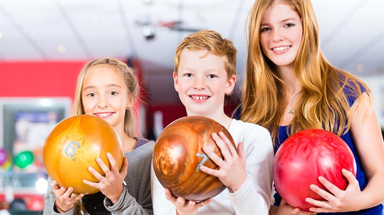 Kids Winter Bowling Break