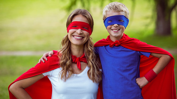 Mother & Son Superhero Party