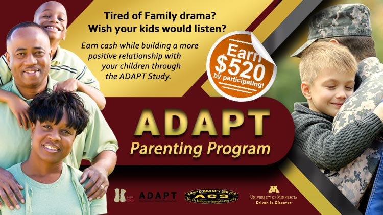 Promoting Effective Parenting in Military Families: After Deployment, Adaptive Parenting Tools (ADAPT)