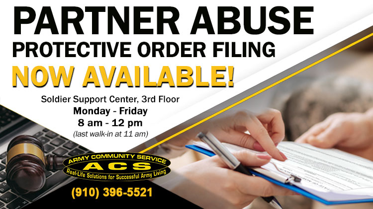 Partner Abuse Protective Order Filing