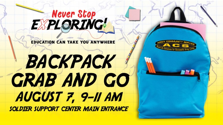 ACS Backpack Grab and Go